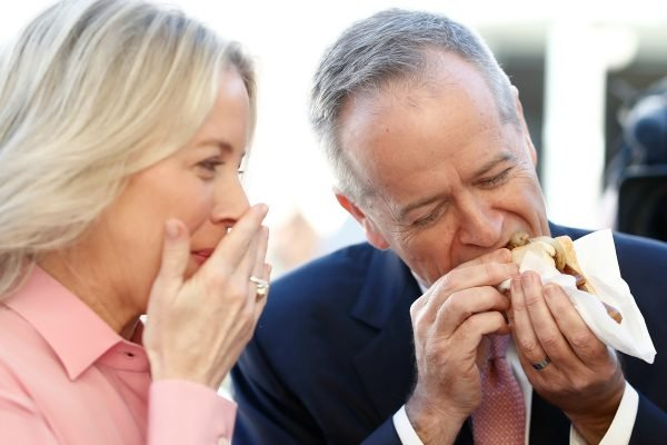 'The election result may have Australia divided, but we can't forget how lucky we are.'