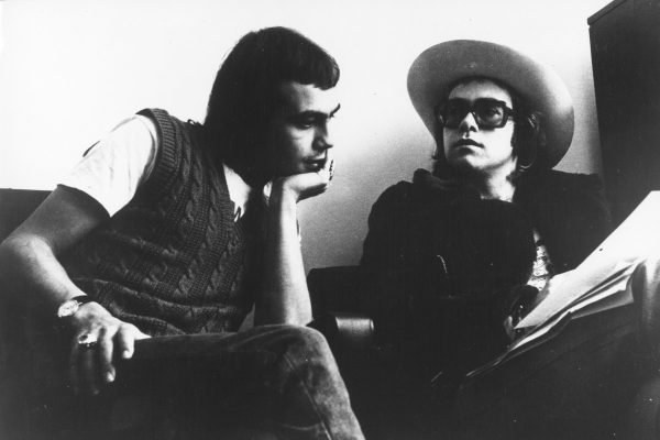 """We live such separate lives,""bernie taupin elton john"