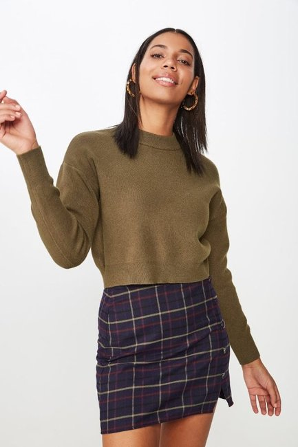 Cotton On Chloe Cropped Luxe Pullover