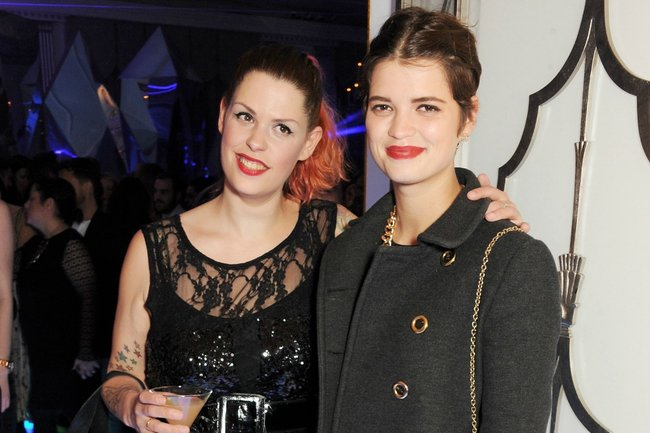 Fifi and Pixie Geldof