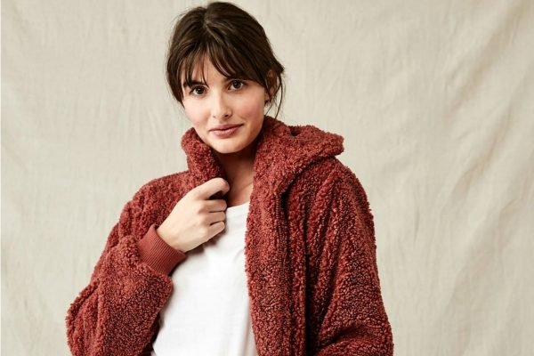 This $35 Kmart teddy jacket is basically a blanket you can take everywhere.