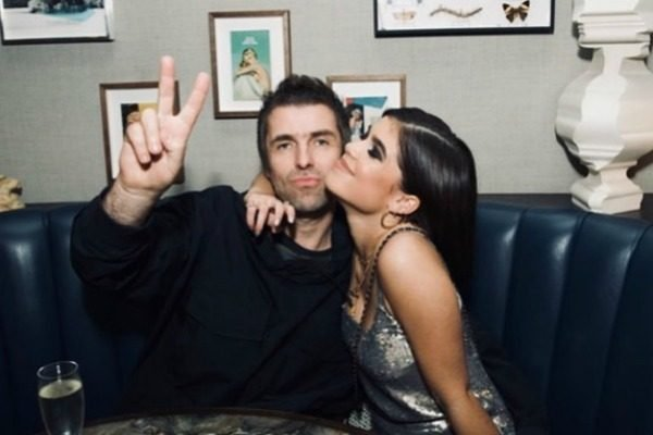 21 years ago,Liam Gallagher's daughter Molly was born. This week, they met for the second time.