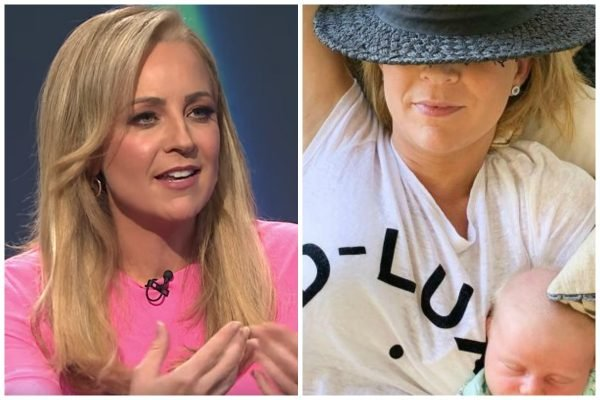 """""""That's my world."""" Carrie Bickmore on her iconic """"Instagram verses reality"""" parenting snapshot."""
