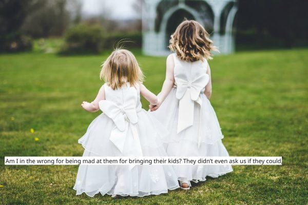 'I had a 'no-kids' rule at my wedding. During the ceremony, a toddler started crying.'