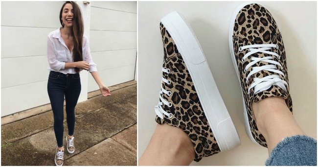 Leopard print sneakers: 7 dupes for the