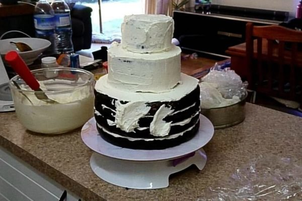 woolworths wedding cake
