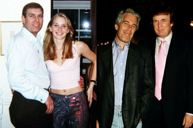 Jeffrey Epstein Donald Trump And Prince Andrew What You -7987
