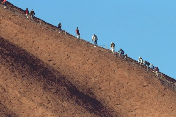 There is nothing, whatsoever, that can justify someone climbing Uluru today.