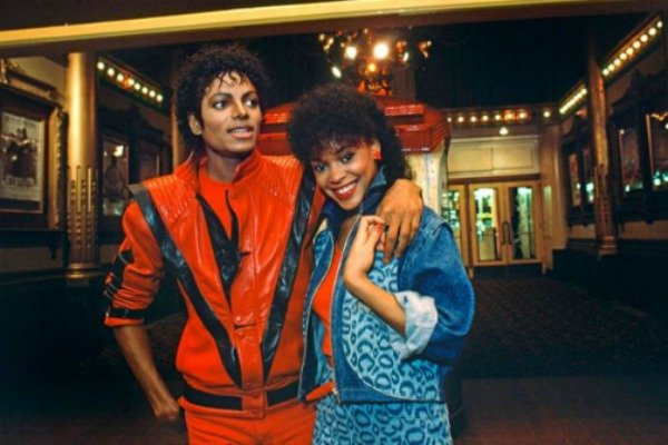 Ola Ray from the Michael Jackson Thriller film clip speaks to Studio 10