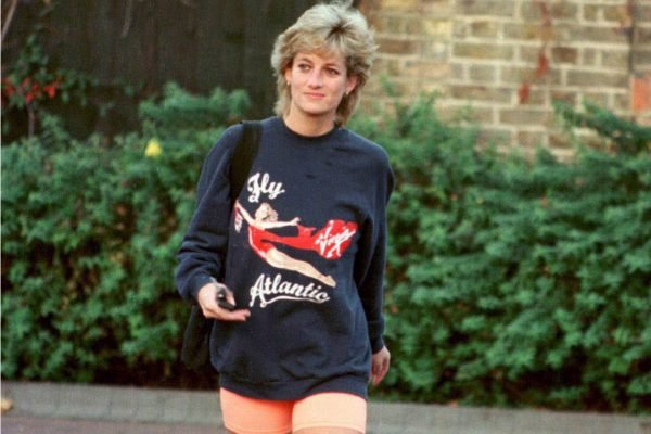 Princess Diana in 1995.
