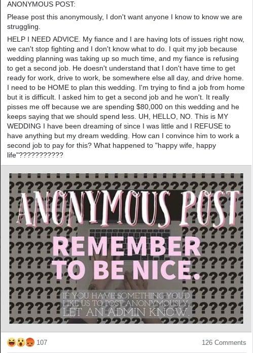bridezilla reddit