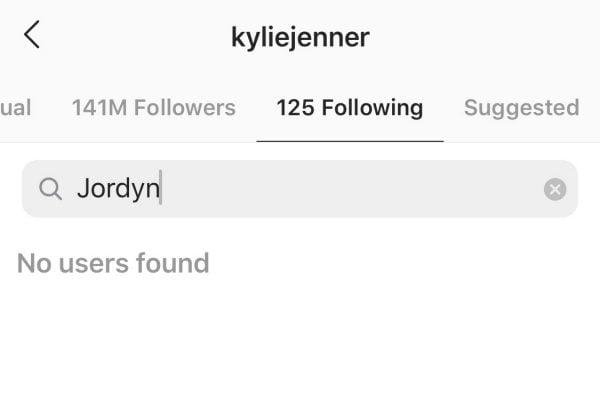 why did Kylie Jenner unfollow Jordyn Woods