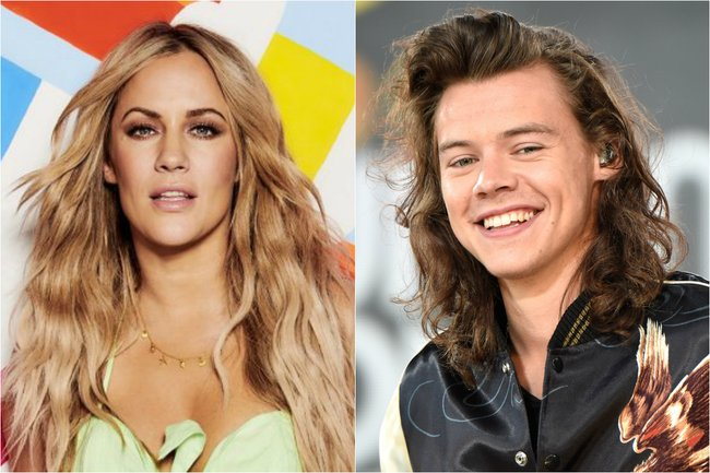 A look back on Caroline Flack's relationship with Harry Styles.