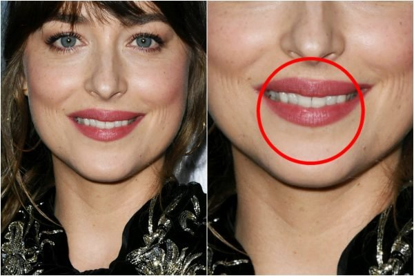 Dakota Johnson tooth gap