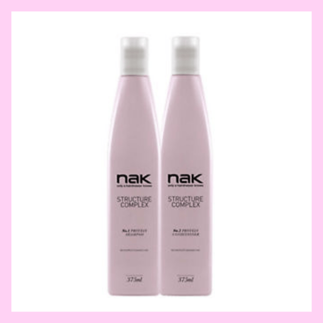 NAK Structure complex shampoo and conditioner
