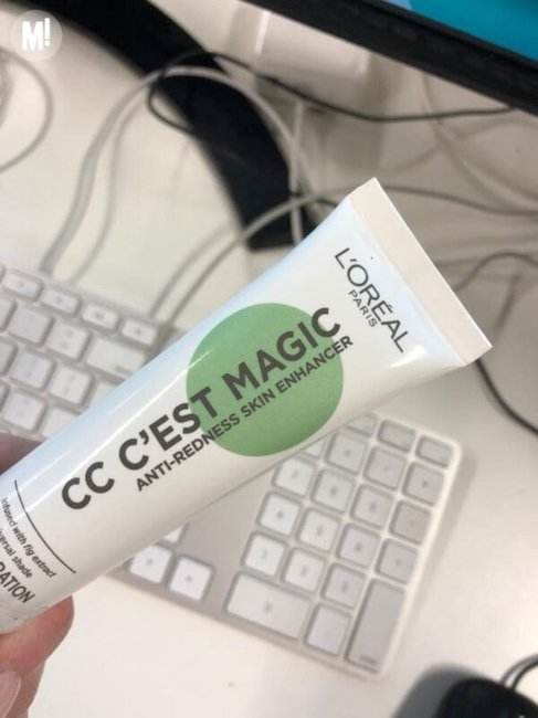 L'Oreal Paris CC C'Est Magic Anti-Redness Skin Enhancer