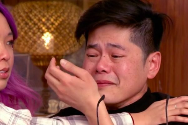 """""""I went through something just as hard."""" Gogglebox's Tim was brought to tears last night."""