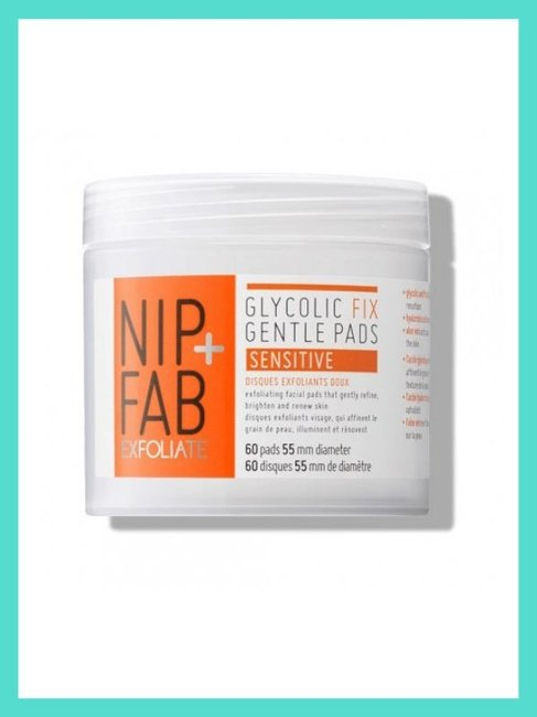 NIP+FAB Glycolic Fix Gentle Pads 60 Pack