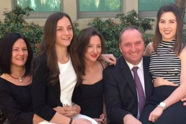 """I do not support you."" Barnaby Joyce's daughter has weighed in on the abortion debate."