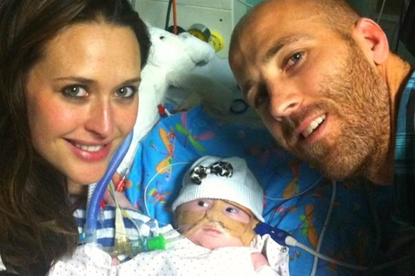Today, Jarrad McVeigh plays his last AFL match. It's also the day his daughter died.