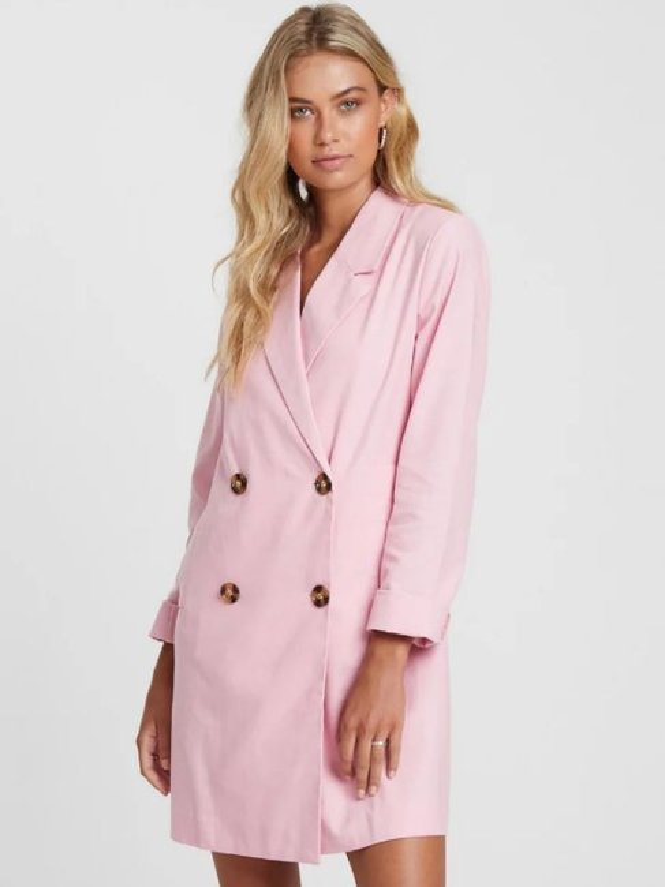 The FatedCeleste Linen Blend Blazer