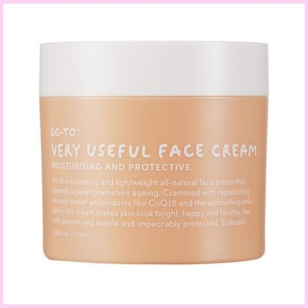 very useful face cream moisturising and protective