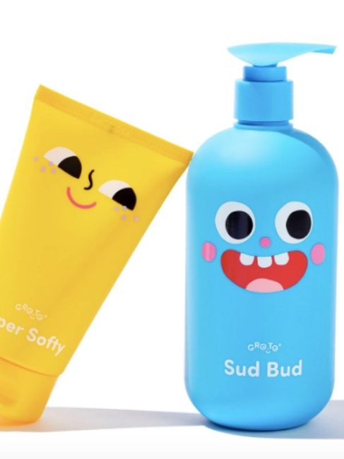 Gro-To Bubbles And Squeaks Kids Skin Care Bundle