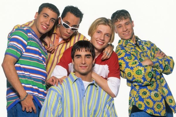 The Backstreet Boys are touring. Here's a reminder of where those 26 years went.