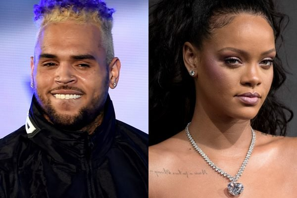 """Stay away from her!"": Chris Brown commented on Rihanna's Instagram, and her fans are furious."