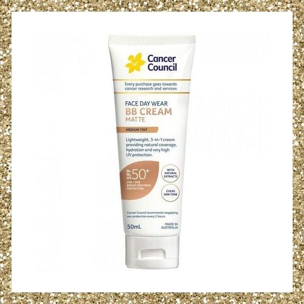 CANCER COUNCIL Face Day Wear BB Cream SPF 50+ Medium Tint
