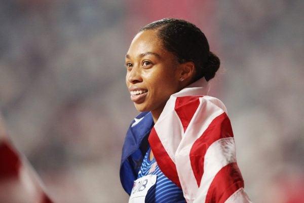 Allyson Felix world record