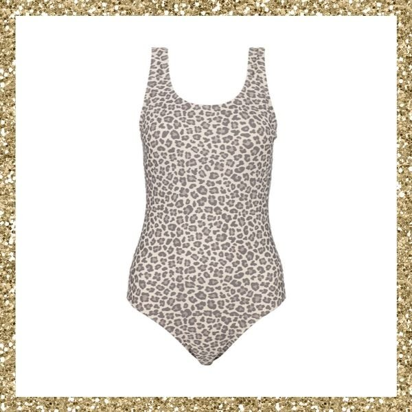 Kmart Printed Scoop Neck One Piece Swimsuit