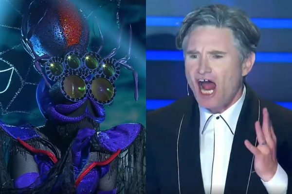 'Did Lindsay just get one?' All the best reactions to tonight's double Masked Singer reveal.