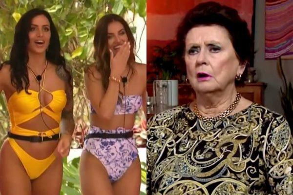 """""""Where do they get these people from?"""" Mamamia recaps The Goggleboxers watching Love Island."""