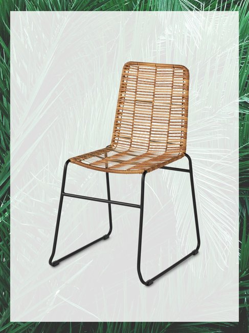 Poly Rattan Dining Chair