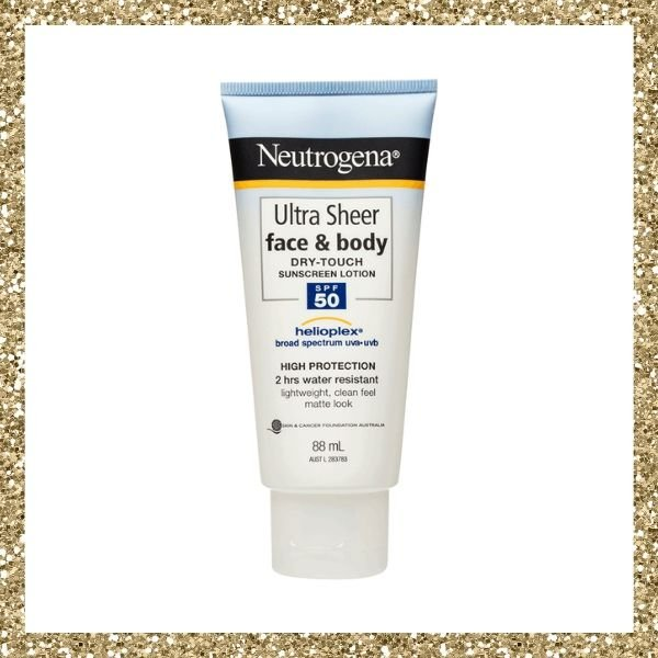 Neutrogena Ultra Sheer Face & Body Lotion SPF50