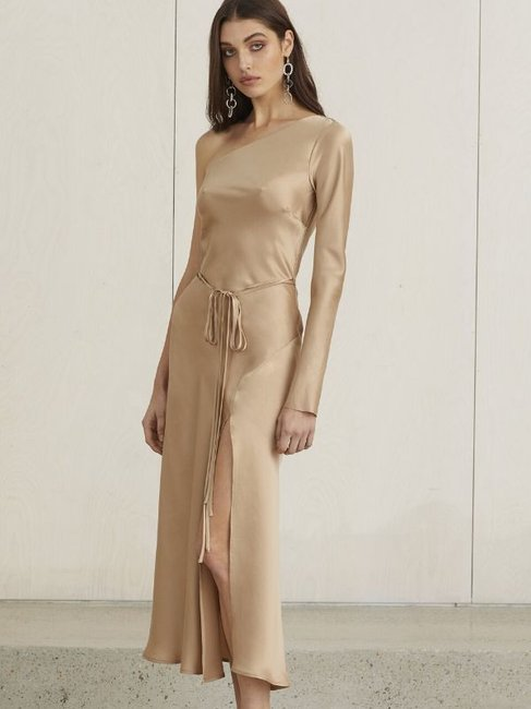 Bec + Bridge Classic One Shoulder Dress