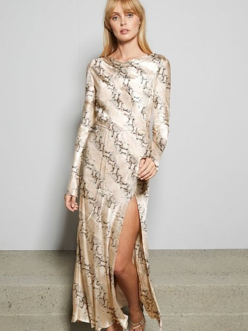 Bec + Bridge Python L/S Dress