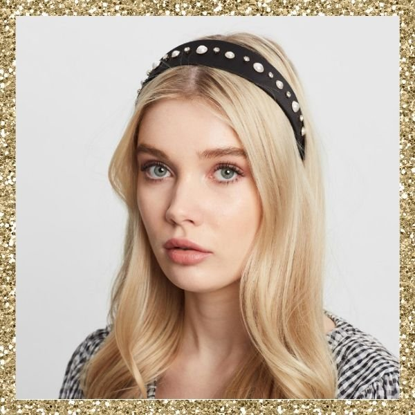 Johnny Loves Rosie Jewel Pearl Headband