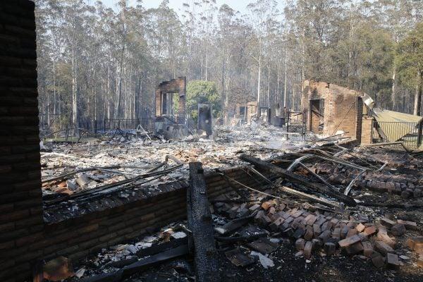 nsw bushfires photos 2019