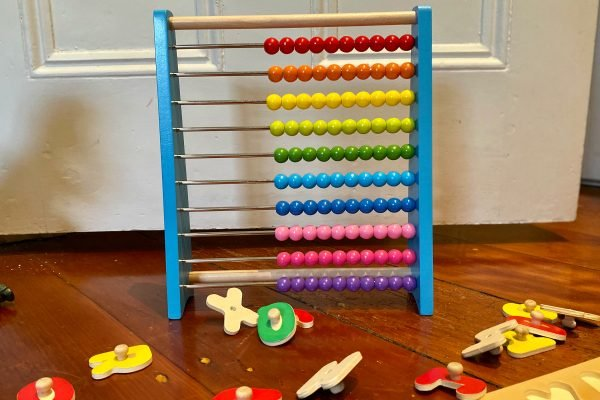 Kadink wooden abacus