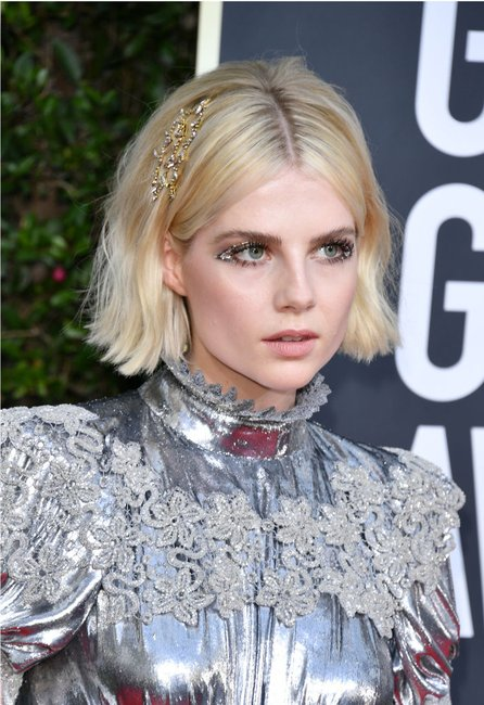 golden globes 2020 hair