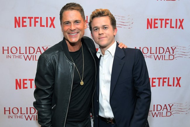 Rob Lowe and John Owen Lowe