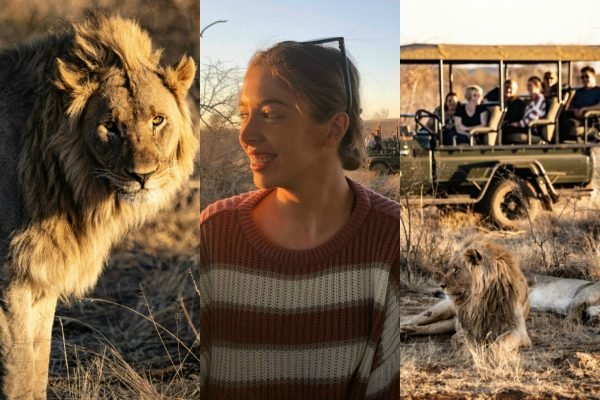 "THE TRAVEL DIARIES: 'I spent two nights ""glamping"" at a luxury safari lodge in South Africa.'"