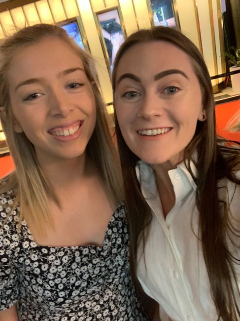Chelsea McLaughlin and Jessica Staveley