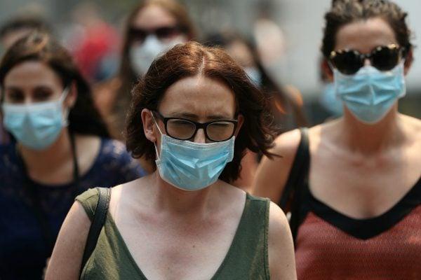 bushfire smoke mask