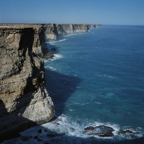 Rocky coast of Great Australian Bight
