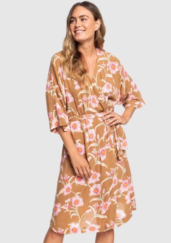 wrap midi dress Kate Middleton