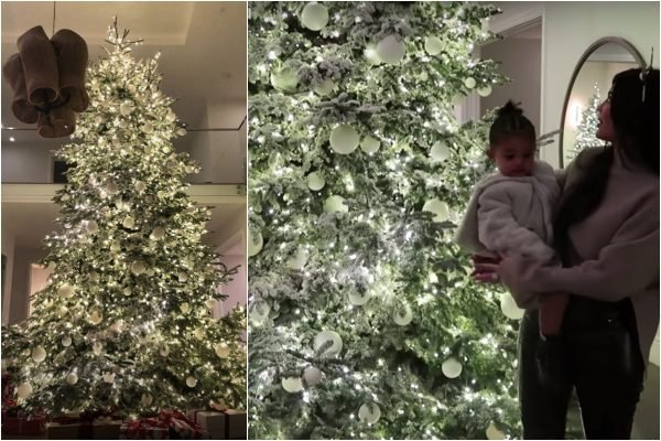 Kylie Jenner Christmas tree