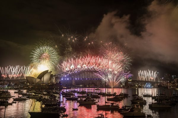 City Of Sydney Celebrates New Year's Eve 2016
